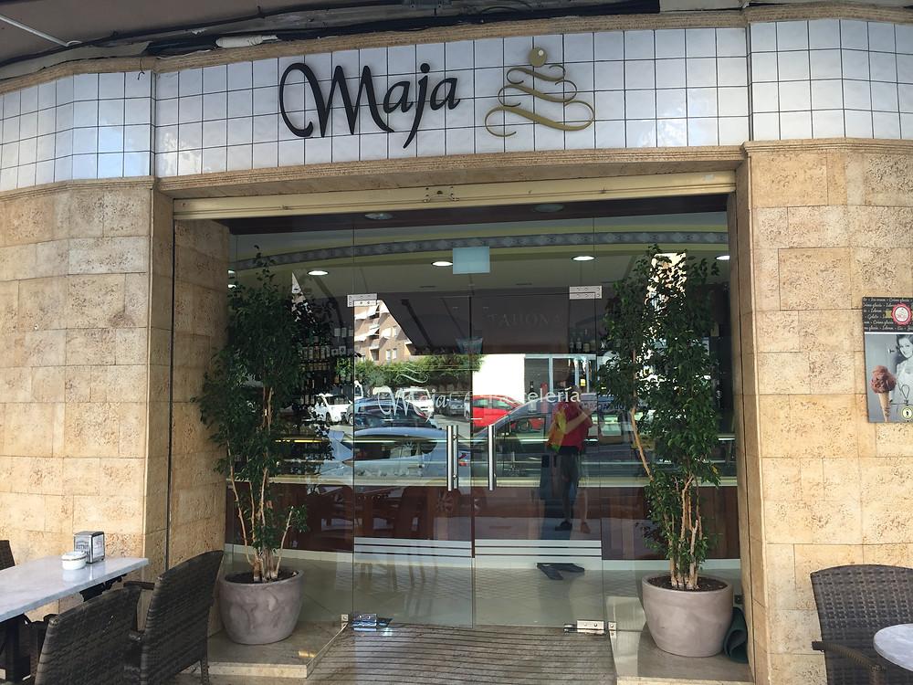 Maja, the best pasteleria in town