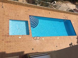 Holiday apartment Villajoyosa swimming pool and toddlers pool