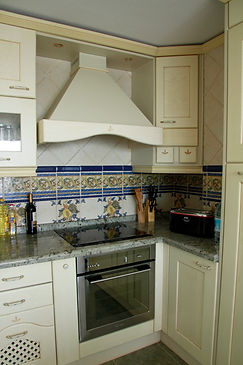 Holiday apartment Villajoyosa fully equipped kitchen