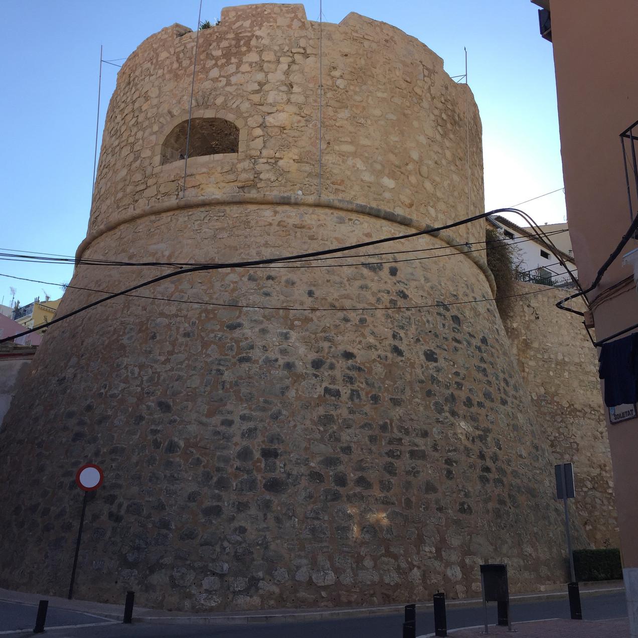 Baluarte del Pozo tower