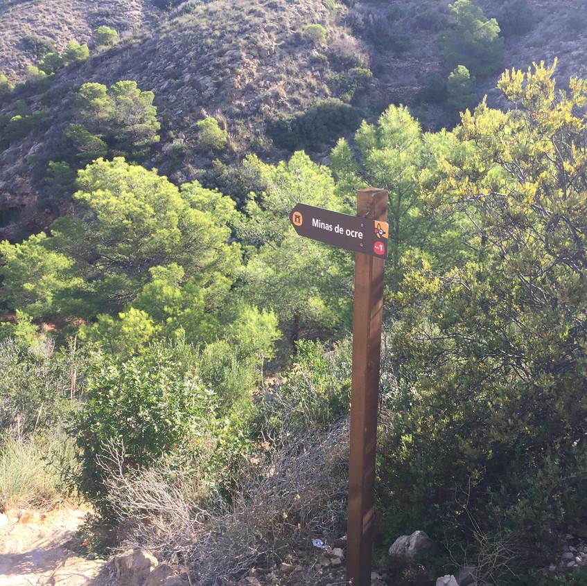 Path to the ochre mine
