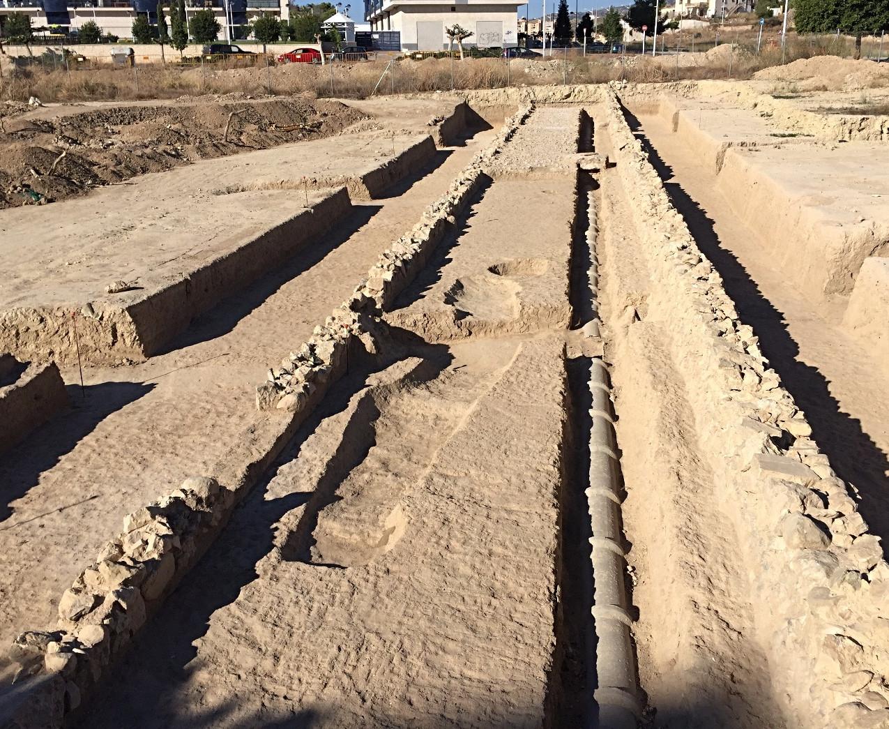 Roman road Malladeta