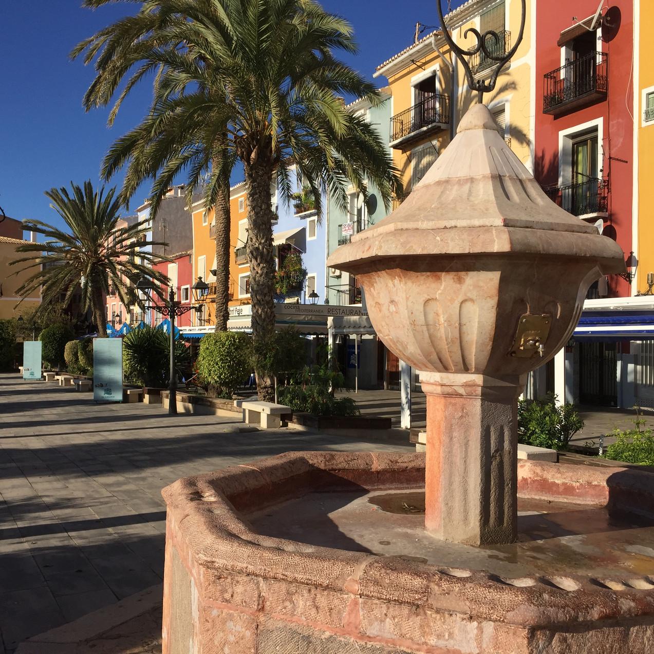 Fountain, Plaza San Pedro