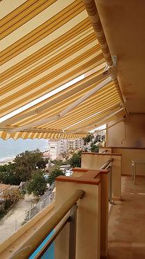 Holiday apartment Villajoyosa large balcony