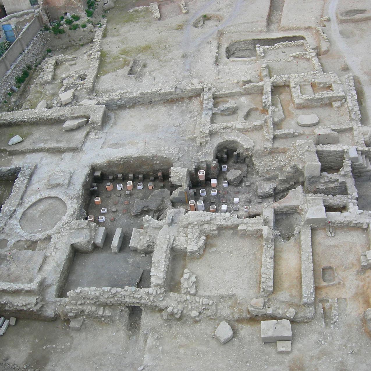 Roman baths in La Vila