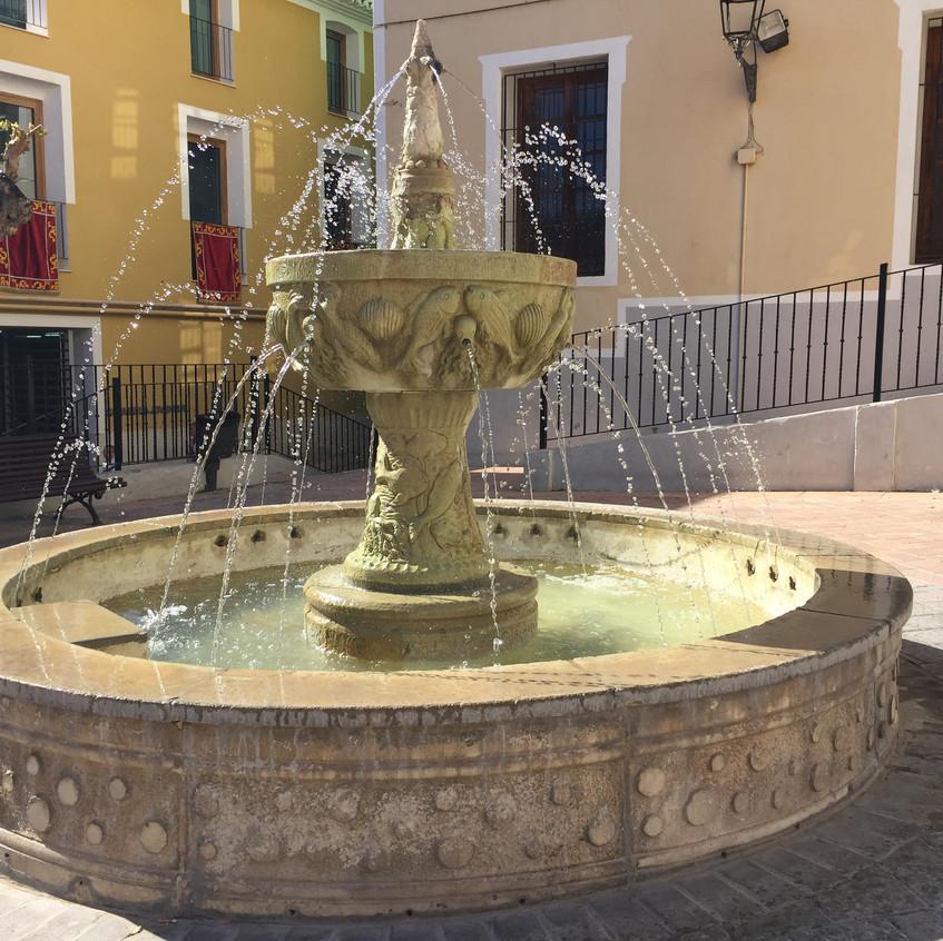 A peaceful plaza