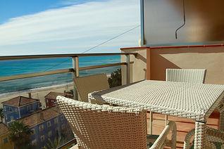 Holiday apartment Villajoyosa balcony terrace