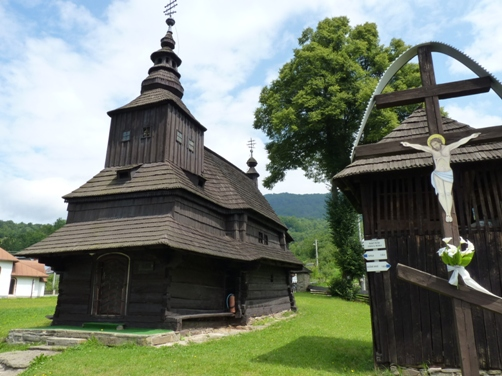 Drevený kostol Ruský Potok