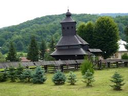Drevený kostol Uličské Krivé