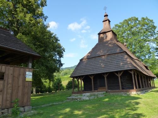 Drevený kostol Topoľa