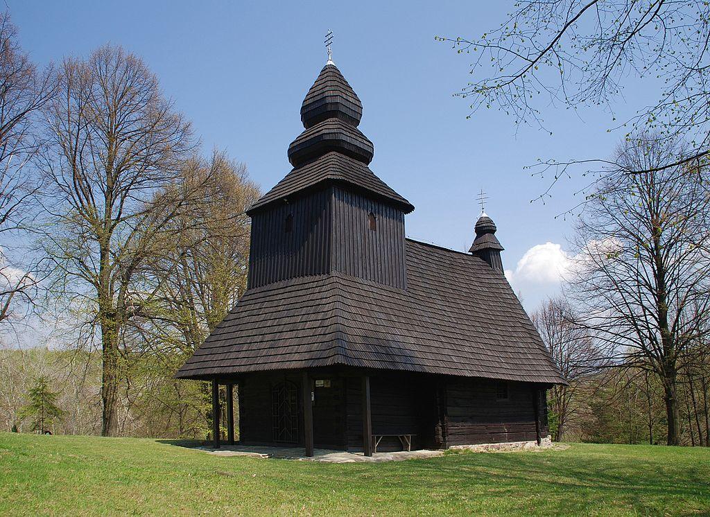 Drevený kostol Ruská Bystrá
