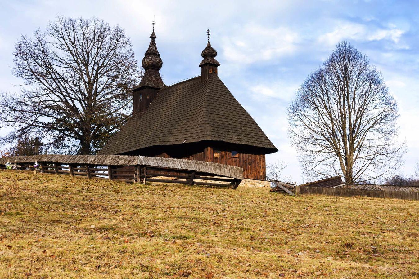 Drevený kostol Hrabová Roztoka