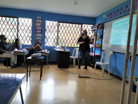 Teacher workshops started