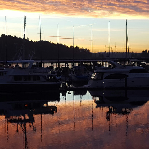 Sunrise on the Harbor