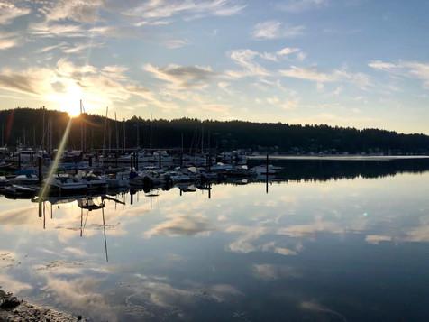 Sunrise in the Harbor