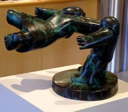 The Widening Gyre bronze