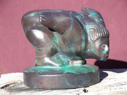 831_Goya's Diver_bronze