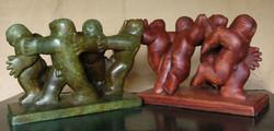 Euphony_bronze and wood