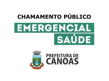 Prefeitura de Canoas abre 300 vagas para profissionais da saúde