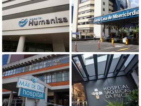 Hospitais da Capital e da Região Metropolitana têm vagas de emprego disponíveis; confira