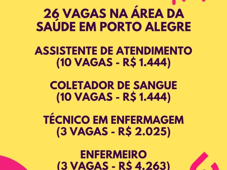 Metta RH seleciona 26 profissionais para área da Saúde em Porto Alegre