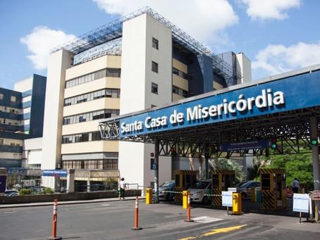 Recepcionista - Hosp Santa Casa - Porto Alegre - RS
