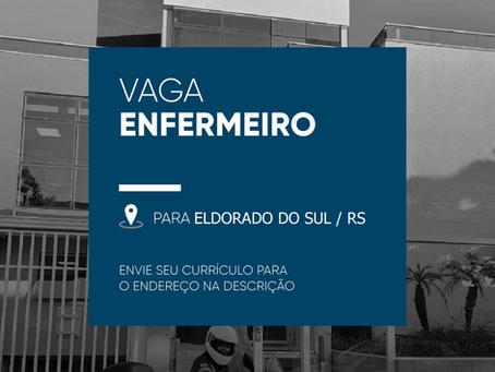 Enfermeira(o) - Pronto Atendimento -Eldorado do Sul - RS