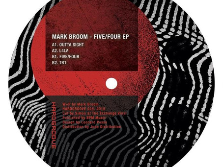 """Mark Broom - """"Five/Four EP"""" straight up fire........."""