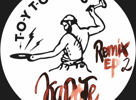 """Kapote """"Remix EP 2"""". Some disco flavor for you....."""