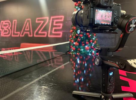 A Blaze Christmas party at David Lloyd, Manchester Trafford.