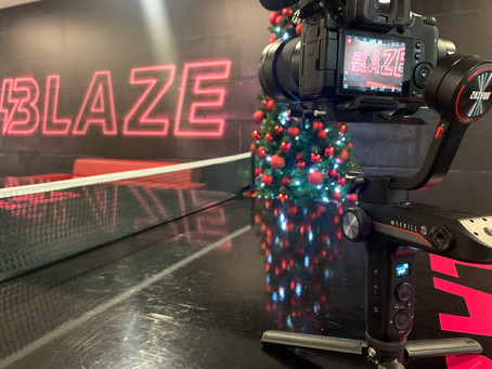 A Blaze Christmas party at David Lloyd, Manchester Trafford.