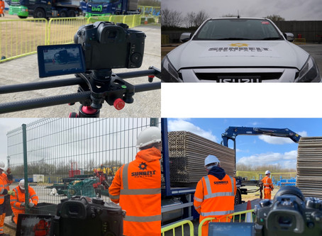Filming for FTSE50 Sunbelt Rentals UK