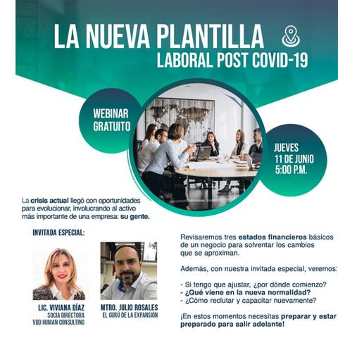 LA NUEVA PLANTILLA LABORAL POST COVID-19