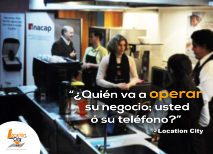 ¿Quien va a operar su negocio; usted o su teléfono?