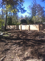 cheap retaining walls brisbane, retaining wall brisbane, sleeper retaining wall, cheap retaining wall, pine sleeper wall, sleepers, retaining, garden bed, cheap