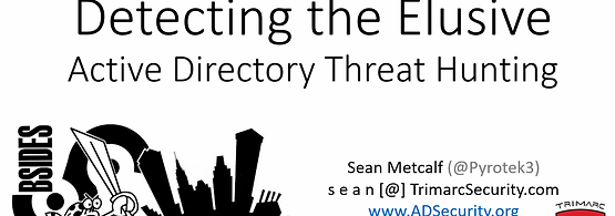 Detecting the Elusive: Active Directory Threat Hunting