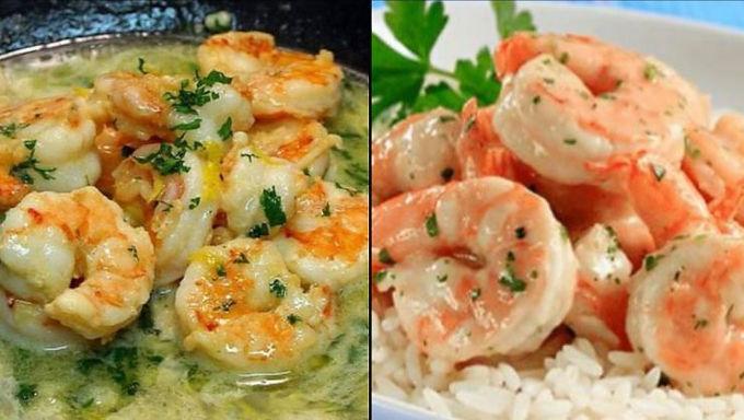 Camarones al Ajillo (crevettes à l'ail)