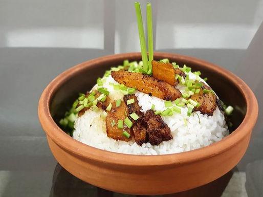 Arroz con manguo (riz à la mangue)