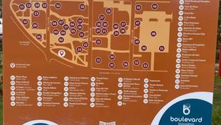 Nouveau boulevard Varadero - Panneaux d'information
