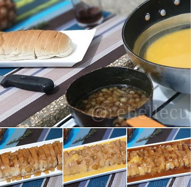Sorpresa de pan cubano (Surprise de pain)