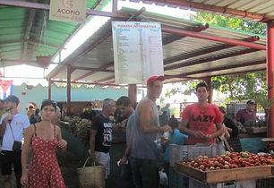 Les marchés publics de Varadero et Santa marta