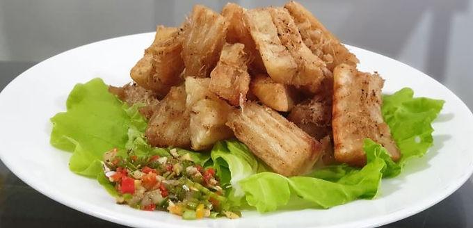 Yuca Frita (manioc frit)