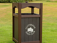 ProPlex Accent Bin Brown Engraved
