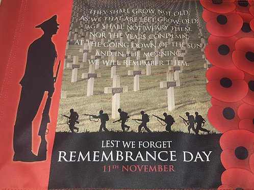 Remembrance Day Golf Flag Package