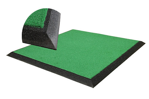 Linksmaster Golf Mat Rubber Crumb Frame Complete