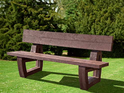 Caister Moulded Links Bench