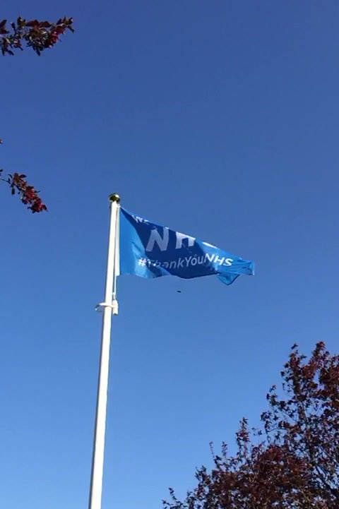 Clubhouse Flag NHS
