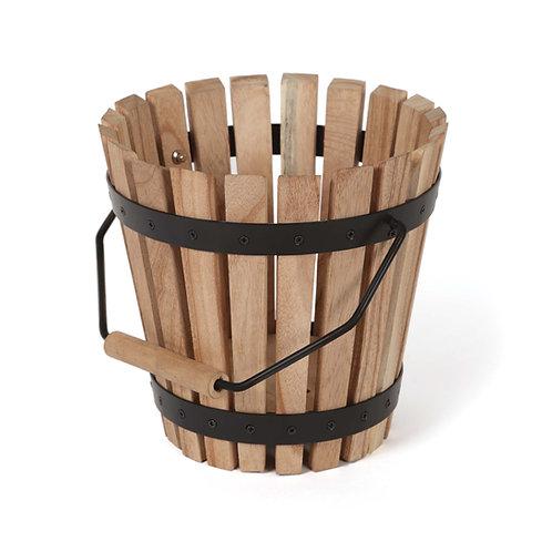 Teak Wood Practice Basket