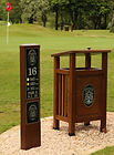 Golf Course Signage Furniture