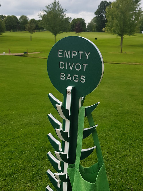Empty Divot Bag Stand